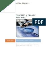 CT 01 Concepto y Tipos de Auditoria