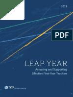Leap Year by TNTP