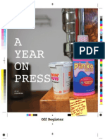 Off Register a Year on Press