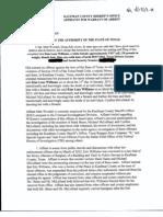 Kim Williams Affidavit