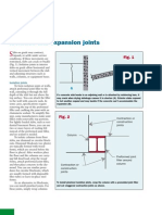Isolation and Expansion Joints