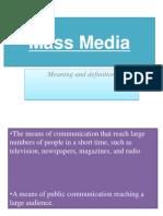 17492 Mass Media