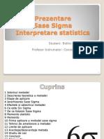 Prezentare Sase Sigma