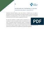 ASSISTÈNCIA SANITÀRIA Programa de becas 2012-13