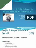 Ética E Responsabilidade Social Empresarial (Slides)