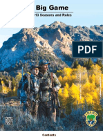 2013 Idaho Big Game Seasons and Rules