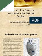 Crisis en Los Diarios Impresos - La Prensa Digital
