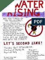 Second Line for Live Music April 25 NOLA