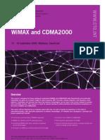 Wimax & cdma 2000