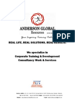 Anderson Global Training Company Profile Upload
