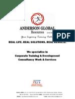 Anderson Global Training Company Profile Upload
