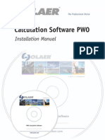 PWOCalc Installation Manual