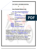 PROJECT ON HERO HONDA LTD.doc