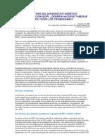 El futuro del DiagnÓstico GenÉtico.doc