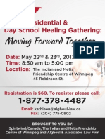 IRS & DAY SCHOOL CONFERENCE - 2nd Annual National - Winnipeg