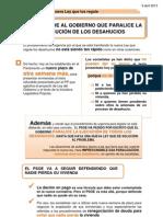 13-04-09-Paralizar Desahucios Hasta Nueva Ley