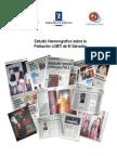 Estudio Hemerográfico sobre la Población LGBTI de El Salvador
