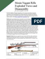 Mosin Nagant Rifle Exploded Views and Disassembly