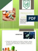 Produccion de Antibioticos