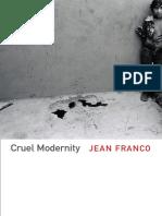 Cruel Modernity by Jean Franco
