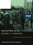Education in the School of Dreams by Jennifer Lynn Peterson