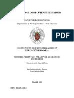 Tesis psicología evolutiva - UNIVERSIDAD COMPLUTENSE DE MADRID