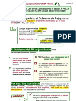 13-04-13-Argumentario Propuesta Reforma Fiscal Psoe