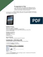 Configurando Geovision No iPad Apple