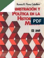 03 Administracin y Poltica en La Historia de Mxico