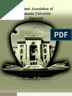 Osmania University Alimni Association Souvenir