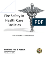 Fire Safety in Healthcare Facilities