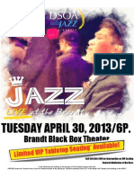 DSOA Jazz Live at the Brandt Black Box Theater