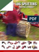 Timberwolf Log Splitter Catalog