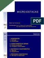 08 Micro-estacas - 11ª aula teórica - COR