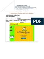 Software Informe Jose Flores