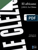 Jean-Marie Gustav le Clézio. El africano (v1.0 robin_lp31)