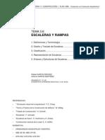 DISEÑO DE ESCALERAS Y RAMPAS