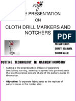 cloth drills and notchers