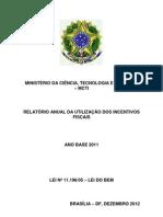 Relatorio Anual Lei Do Bem - 225268
