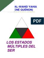 Los Estados  Múltiples Del  Ser _Rene Guenom