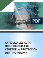 Bases Intermedias y Protectores Dentino Pulpares