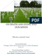 Batthyany__ExistCog_On Death and Dying and Our Minds