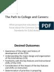 CC Higher Education ELA Literacy