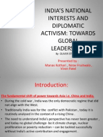 INDIA'S NATIONAL INTERESTS AND DIPLOMATIC ACTIVISM.pptx