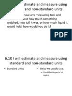 Estimate and Measure