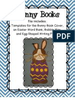 Bunny Books a Writing and Papercraft Activity for Primary Students
