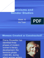 W10-Feminisms and Gender Studies