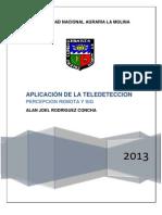 APLICACIONES DE LA TELEDETECCIÓN Y SIG AL CONTROLY CUANTIFICACIÓN DE LAS EXTRACCIONES DE AGUA SUBTERRÁNEA