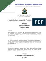 Ley Del Instituto Nacional de Prevision Del Magisterio (INPREMA) (Actualizada-07)