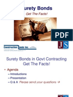 Government Contracting - Surety Bonds